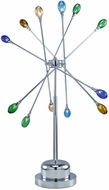 Lite Source LS3950-C-MULTI (OVERSTOCK SALE) Fireworks 12-Lite Table Lamp in Multi-Colored Glass
