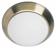 Lite Source LS5325-AB Panorama 16 ½ inches wide Antique Brass Fluorescent Ceiling Light