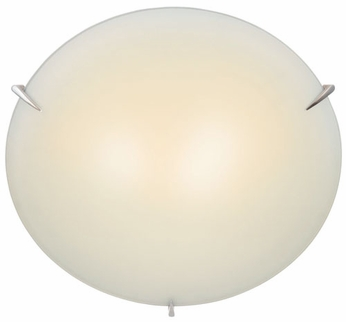 Lite Source LS5338-PS-FRO Nick 17 inches wide Polished Steel Ceiling Light