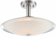 Lite Source LS-5435 Natharie Polished Steel LED Ceiling Light Fixture