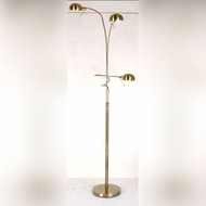 Lite Source LS82100PS Denzel 78 Inch Tall Polished Steel Contemporary Floor Lamp