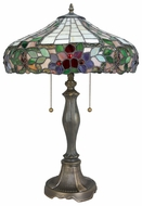 Lite Source LSCF41236 Everly Tiffany 3-light Large Fluorescent Table Lamp