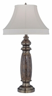 Lite Source LSEL-30034 Holbrook Traditional Brass 33 Inch Tall Table Light