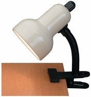 Lite Source LSF-111IVY Clip-On Black Fluorescent Clip On Task Lighting