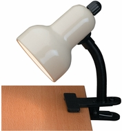 Lite Source LSF-111IVY Clip-On Contemporary Ivory Fluorescent Clip On Light