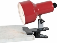 Lite Source LSF-114RED Clip-On Ii Contemporary Red Fluorescent Clip On Light