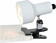 Lite Source LSF-114WHT Clip-On Ii Modern White Fluorescent Clip On Light