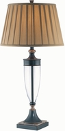 Lite Source LSF-21415 Fergal Dark Bronze Fluorescent Table Lamp