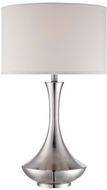 Lite Source LSF-22079 Elisio Modern Polished Steel Fluorescent Table Lamp