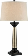Lite Source LSF-22492 Peyton Dark Bronze Fluorescent Side Table Lamp
