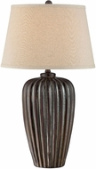 Lite Source LSF-22494 Rissa Coffee Bronze Fluorescent Table Lamp