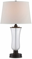 Lite Source LSF-22547 Prisco Clear Fluorescent Table Lamp Lighting