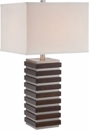 Lite Source LSF-22674 Dante Contemporary Polished Steel Fluorescent Table Top Lamp