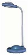 Lite Source Lykta 16 Inch Tall Purple Plastic Desk Lamp - LED