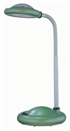 Lite Source Lykta Light Green 16 Inch Tall LED Plastic Desk Lamp