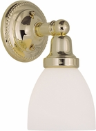 Livex 1021-02 Classic Polished Brass Wall Lamp