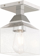 Livex 10380-05 Aragon Modern Polished Chrome Ceiling Light Fixture