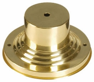 Livex 2001-02 Outdoor Polished Brass Post Mount