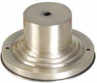 Livex 2001-91 Outdoor Brushed Nickel Post Mount