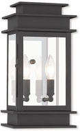 Livex 2014-04 Princeton Contemporary Black Wall Sconce Lighting