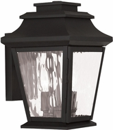 Livex 20232-04 Hathaway Black Wall Lighting Sconce
