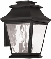 Livex 20235-04 Hathaway Black Wall Mounted Lamp