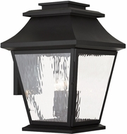 Livex 20240-04 Hathaway Black Wall Lighting Fixture