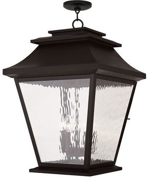 Livex 20247-07 Hathaway Bronze Lighting Pendant