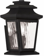 Livex 20255-04 Hathaway Black Wall Lighting