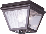 Livex 2029-07 Cambridge Bronze Exterior Ceiling Lighting