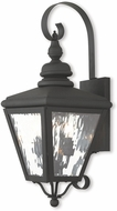 Livex 2031-04 Cambridge Black Wall Sconce Lighting