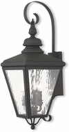 Livex 2033-04 Cambridge Black Wall Lighting Sconce