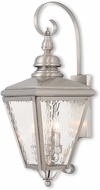Livex 2033-91 Cambridge Brushed Nickel Wall Sconce Lighting