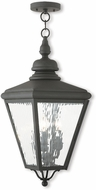 Livex 2035-04 Cambridge Black Hanging Light