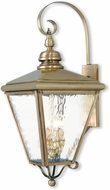Livex 2036-01 Cambridge Antique Brass Wall Mounted Lamp