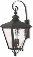 Livex 2036-04 Cambridge Black Wall Light Sconce