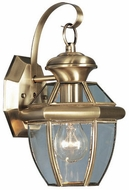 Livex 2051-01 Monterey Antique Brass Wall Lighting