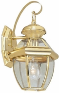 Livex 2051-02 Monterey Polished Brass Sconce Lighting