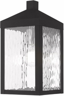Livex 20532-04 Nyack Modern Black Outdoor 13  Wall Sconce Lighting