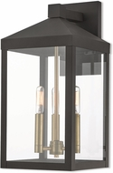 Livex 20584-07 Nyack Bronze Outdoor Wall Sconce