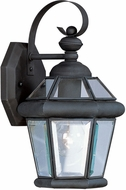 Livex 2061-04 Georgetown Black Wall Lighting Sconce