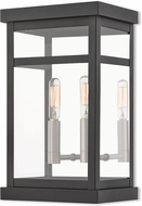 Livex 20702-04 Hopewell Black Exterior Wall Sconce Lighting