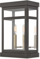 Livex 20705-07 Hopewell Bronze Outdoor Wall Sconce Lighting