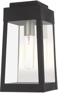 Livex 20852-04 Oslo Modern Black Outdoor 12  Wall Mounted Lamp
