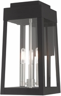 Livex 20855-04 Oslo Modern Black Outdoor Wall Sconce Light