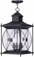 Livex 2097-07 Providence Traditional Bronze Exterior Hanging Lamp