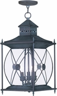 Livex 2097-61 Providence Traditional Charcoal Outdoor Hanging Light