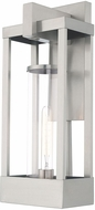 Livex 20993-91 Delancey Modern Brushed Nickel Outdoor 20  Wall Light Fixture
