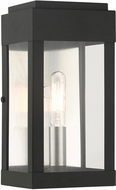 Livex 21231-04 York Black Exterior 9  Lighting Wall Sconce