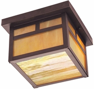 Livex 2139-07 Montclair Mission Craftsman Bronze Ceiling Light